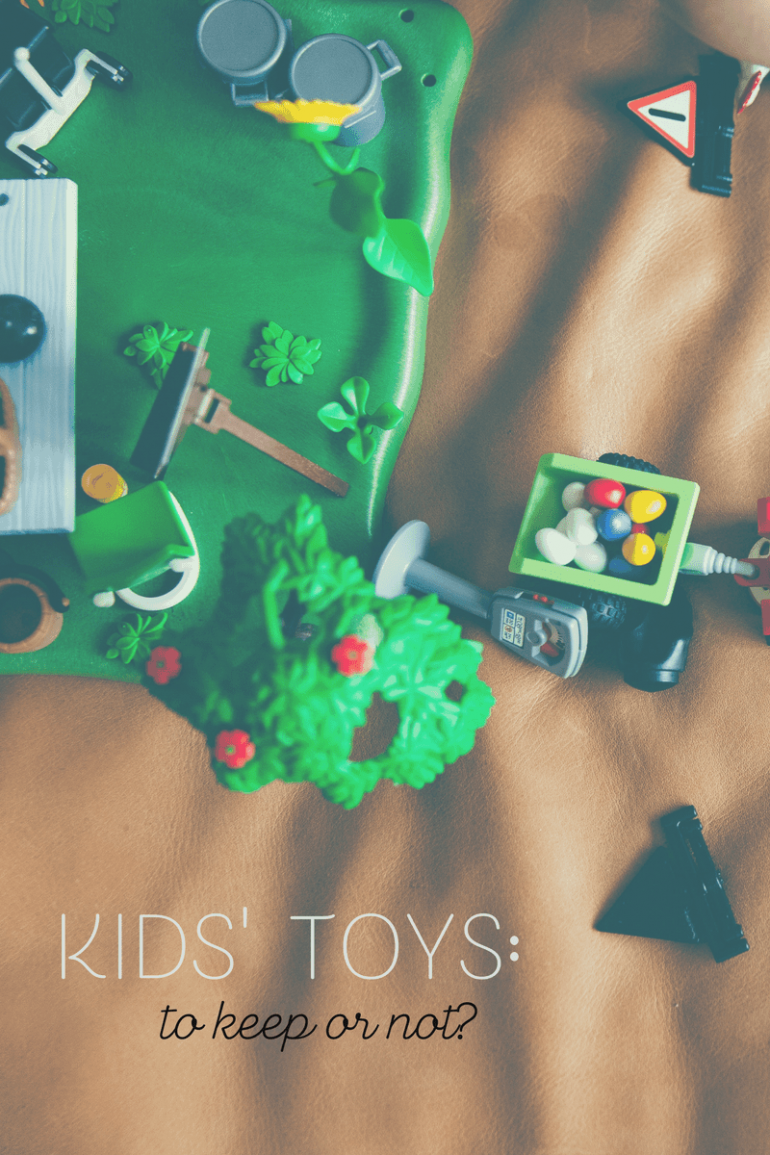 Kids' Toys: To Keep or Not to Keep?