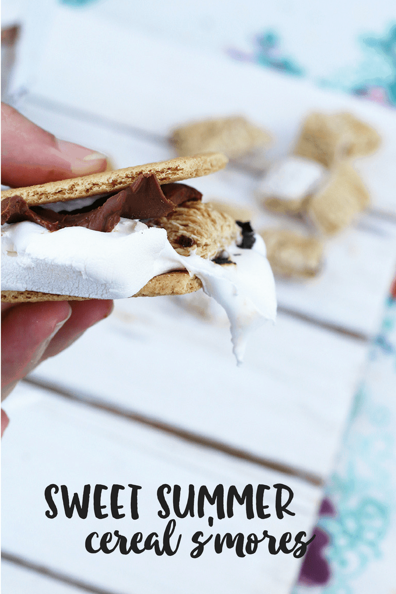 Sweet Summer Cereal Smores