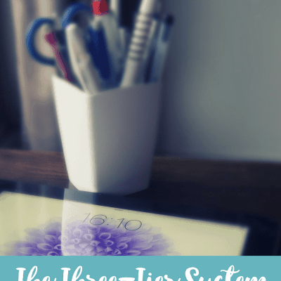 Use the Three-Tier System of Organization in Your Home