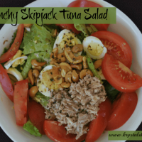 Fresh Tuna Garden Salad (W30 compliant!)