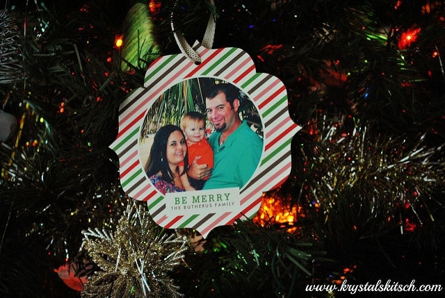 Minted Ornament Cards