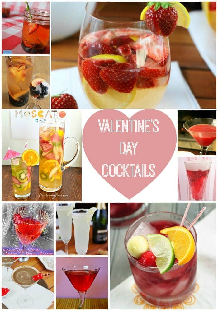 Valentine's Day Sangria Cocktail Recipes
