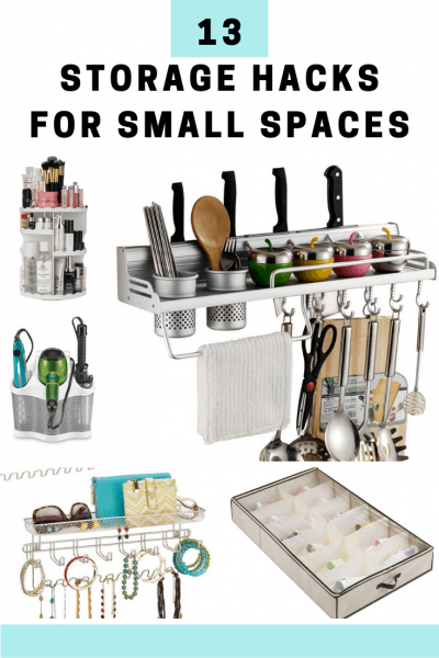 13 Easy Storage Hacks You Need to Use In Your Small Space