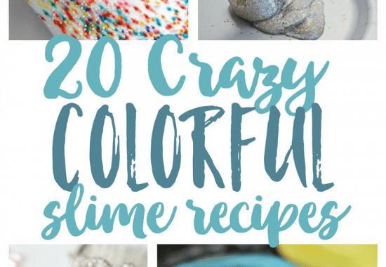 20+ Crazy Colorful Slime Recipes