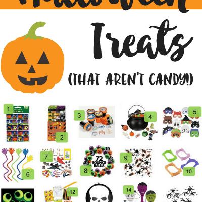 20 Creative Non-Candy Halloween Treats