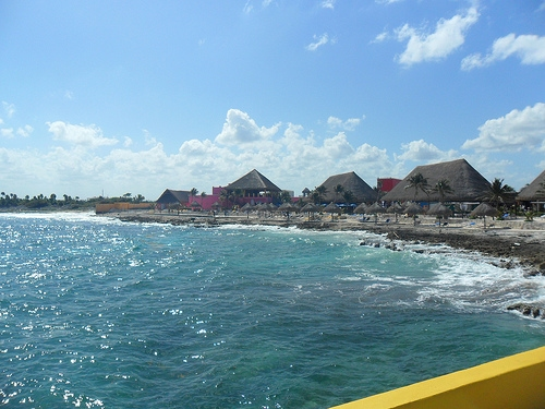 Cruising to Costa Maya