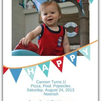 Plan a 1st Birthday Party