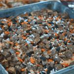 Easy Halloween Recipes: Nestle Crunch Bar Brownie Cake