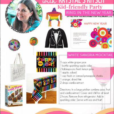 Kids Rainbow New Year's Eve Party | Soirees & Sangria