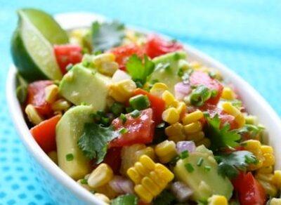 Florida Corn, Tomato, and Avocado Salsa Recipe