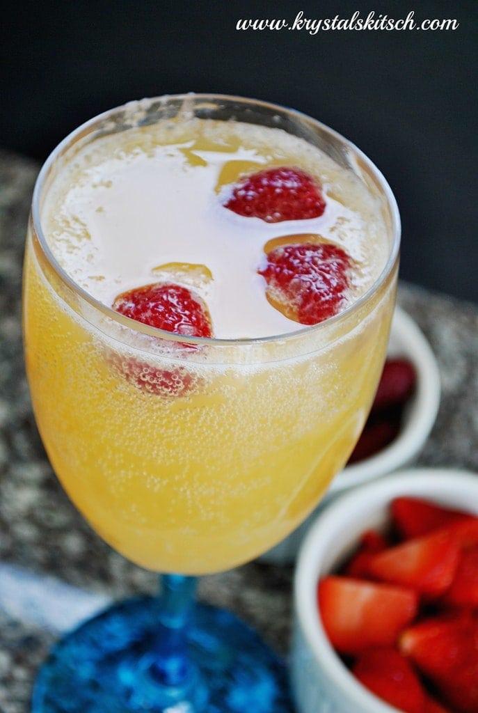 Raspberry Mimosa