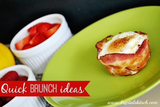 Quick Brunch Ideas