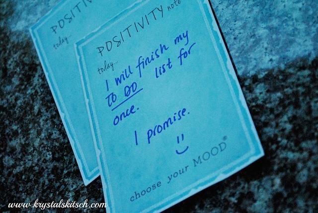 Positivity Notes