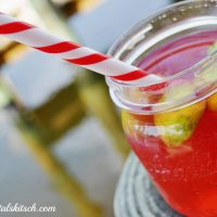 Spiked Cherry Limeade Cocktail