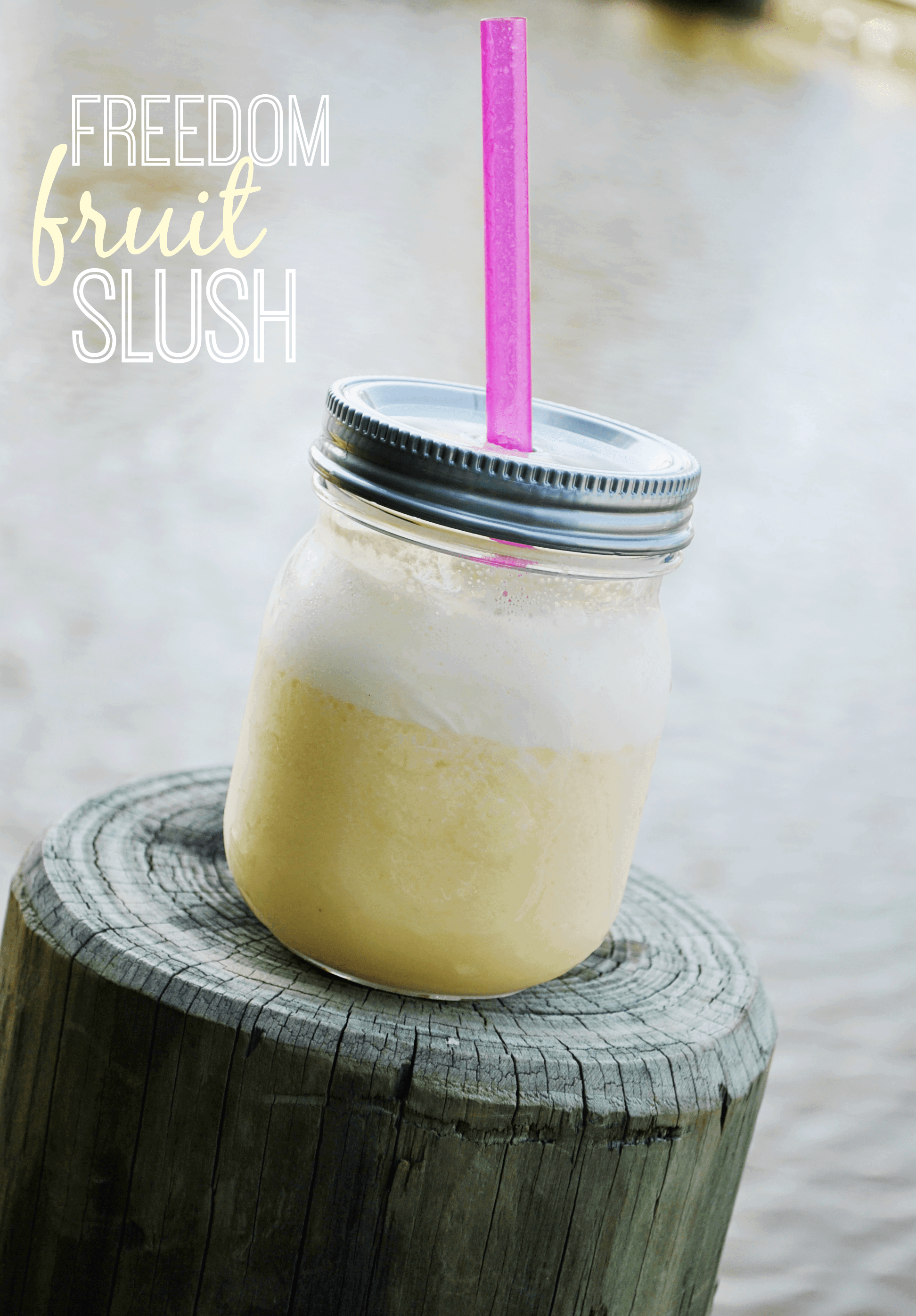Freedom Fruit Slush Cocktail