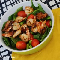 Garlic Shrimp Salad