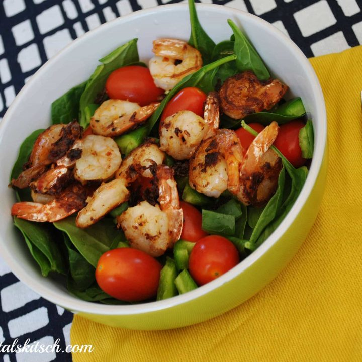 Fresh Express Spinach Shrimp Salad Recipe