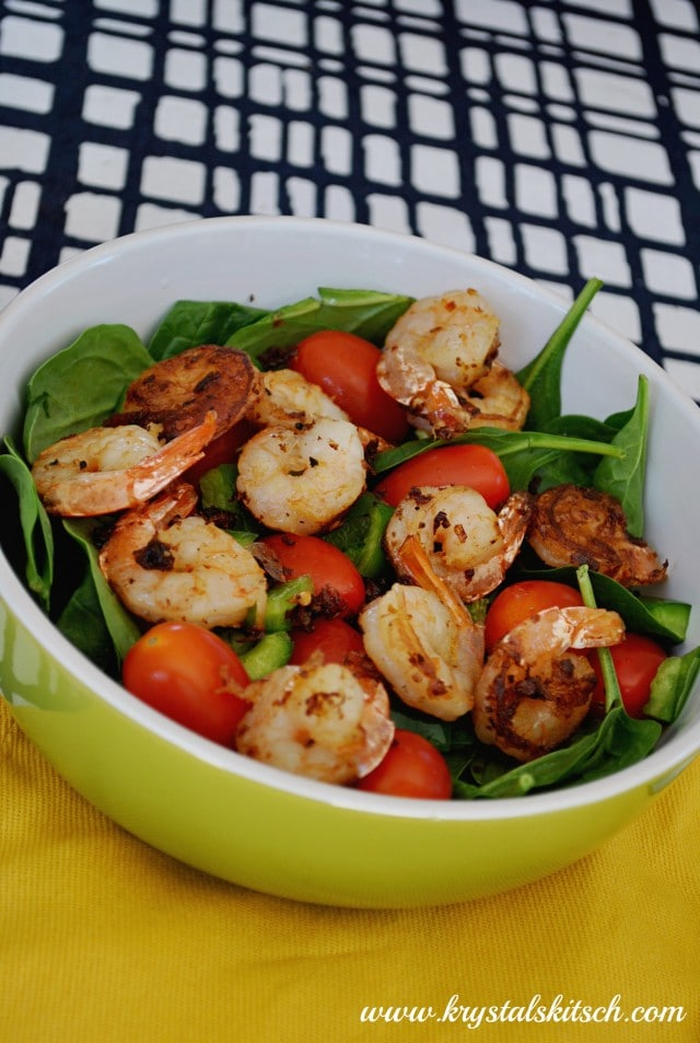 Spinach Shrimp Salad Recipe