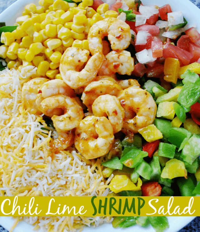 Chili Lime Shrimp Salad
