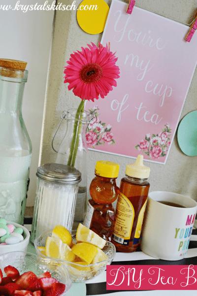 Create a DIY Tea Bar For Your Next Event #shop