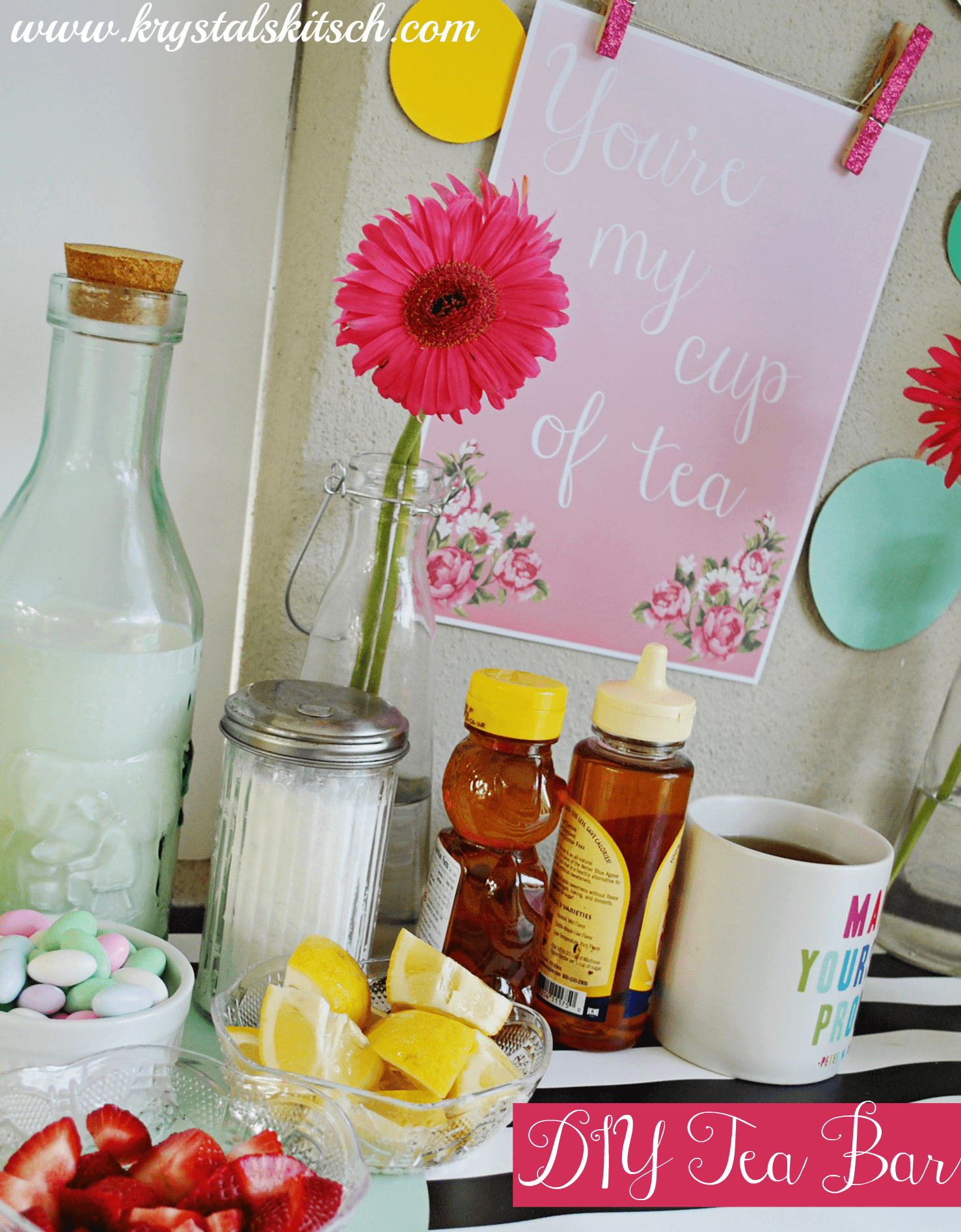 Create a DIY Tea Bar For Your Next Event #shop
