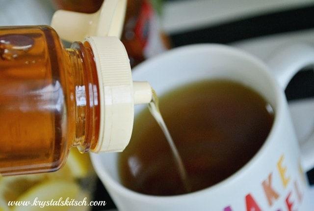 DIY Tea Bar With Agave Nectar #shop