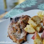 Lemon Butter Pork Chops With Rosemary Potatoes