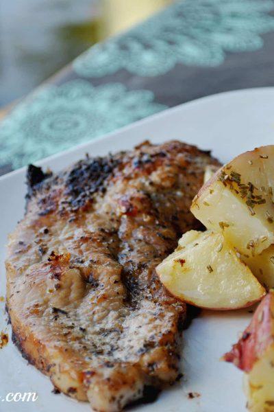 Easy Olive Oil Pork Chop Recipe #shop