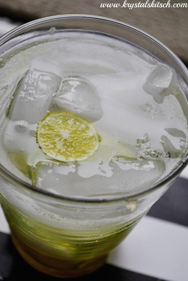 Key Lime Caipirinha