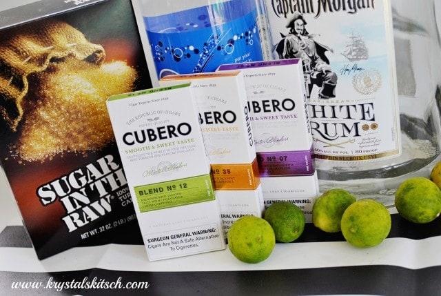 Key Lime caipirinha cocktail recipe