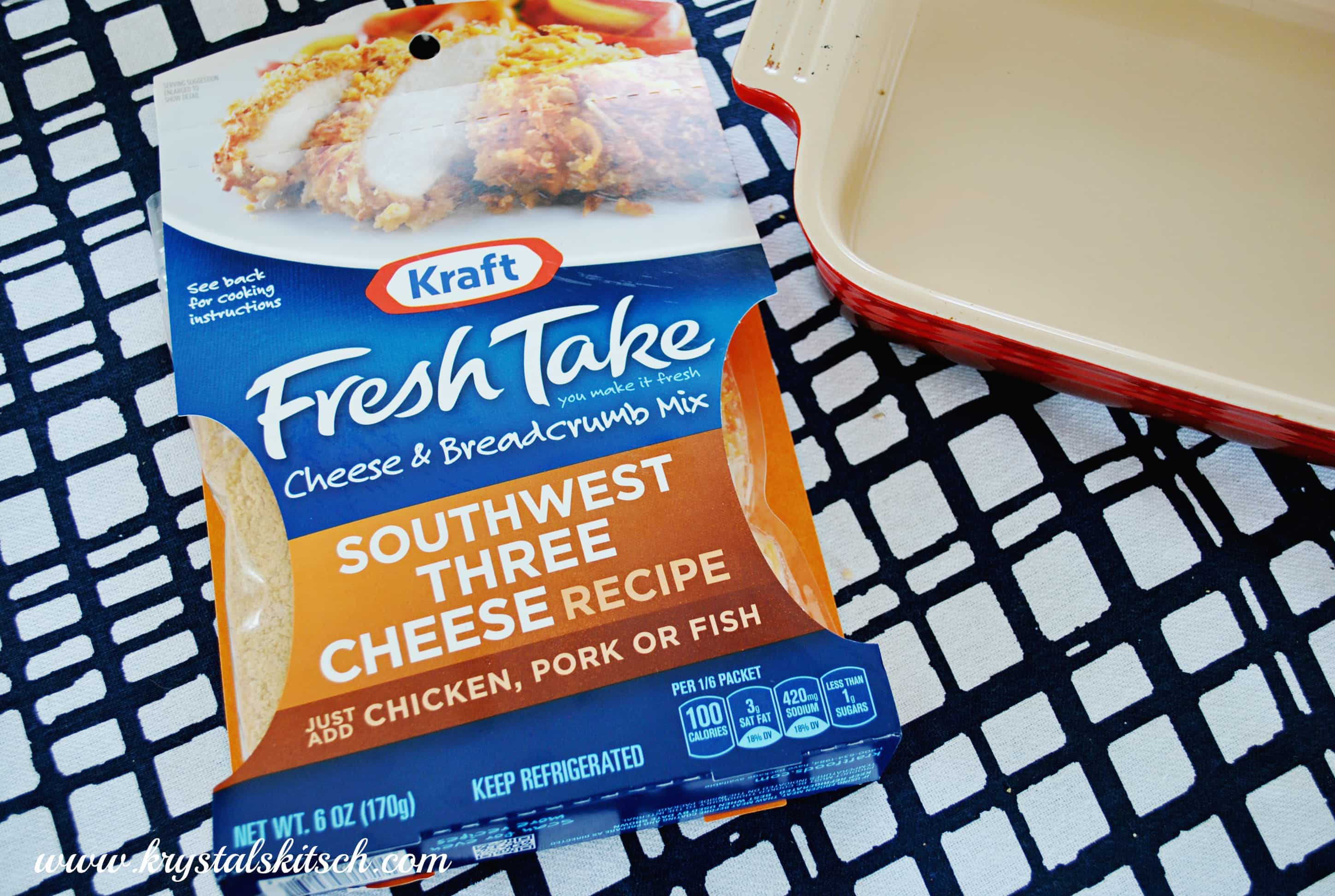 Kraft Fresh Take Cheese and Breadcrumb Mix #shop