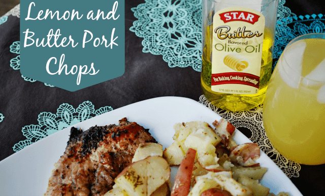 Lemon and Butter Pork Chop Recipe #shop