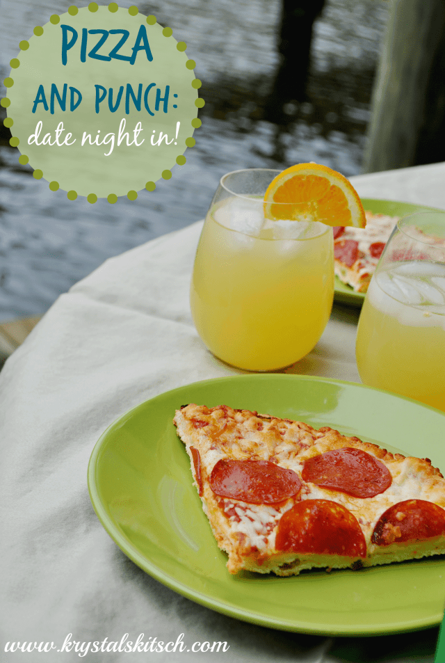 Pizza and Punch Date Night In With Tonys Pizzeria