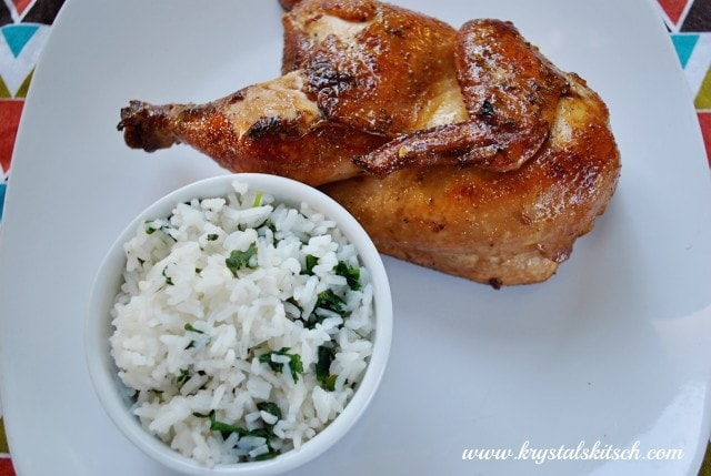 Cornish Game Hen Dinner Recipe #shop