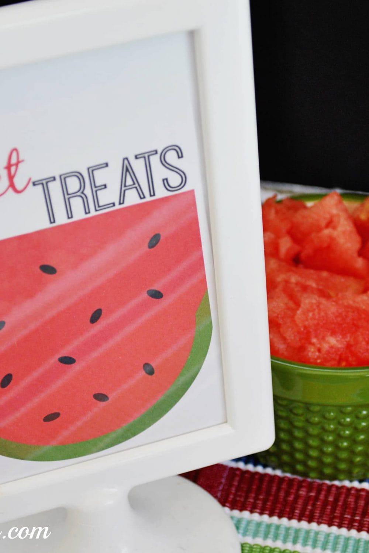 Fruit Bar Ideas