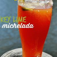 Key Lime Michelada Cocktail