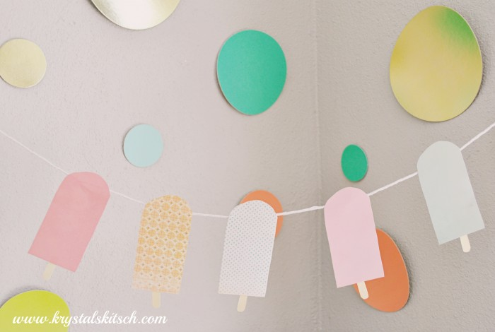 Popsicle Party Bunting