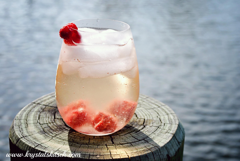 Raspberry Chardonnay Cocktail Recipe