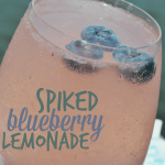 Spiked Blueberry Lemonade | Outdoor Entertaining Recipes