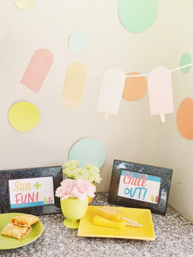 Summer Party Ideas With Free Printables