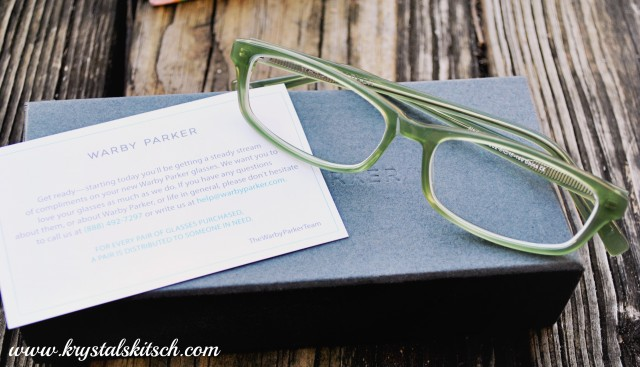 Warby Parker Green Glasses