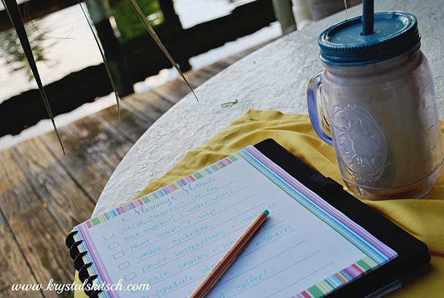 Morning Motivate Checklist