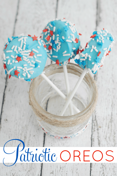 Patriotic Oreos | July 4th Dessert Recipe
