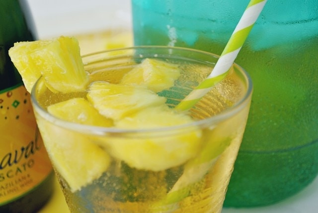 Pineapple Moscato Cocktail
