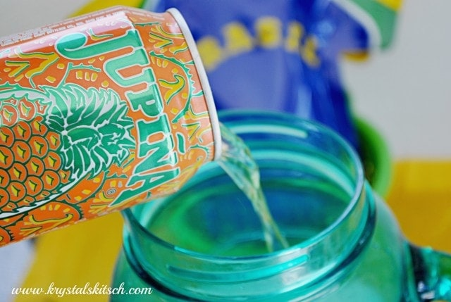 Pineapple Soda Cocktail