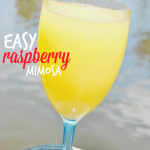 Easy Raspberry Mimosa Recipe