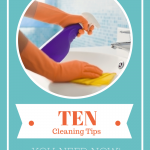 10 Easy House Cleaning Tips