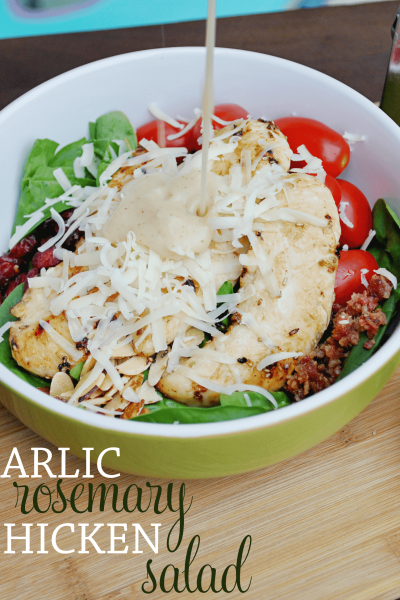 Garlic Rosemary Chicken Salad