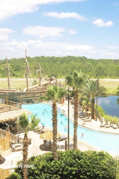 Lake Buena Vista Spa and Resort Pirate Ship
