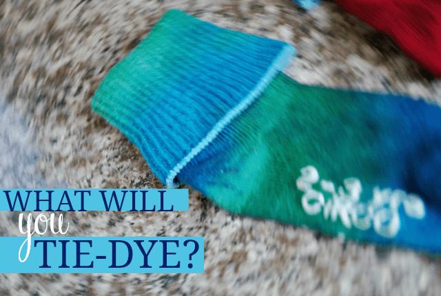 Tie-Dye DIY